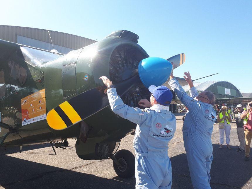 Des pilotes et des avions historiques se lancent sur la ligne Latécoère