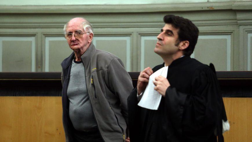 Joachim Toro lors de son premier procès devant la Cour d'assises des Pyrénées-Orientales