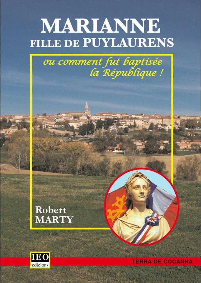 Couverture du livre de Robert Marty consacré à Marianne