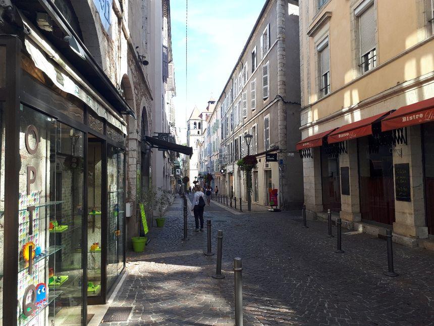 6% des commerces sont vides dans le centre de Cahors