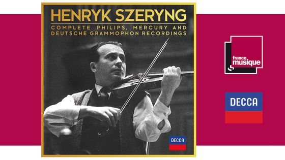 Henryk Szeryng : Complete Philips, Mercury and Deutsche Grammophon Recordings chez DECCA