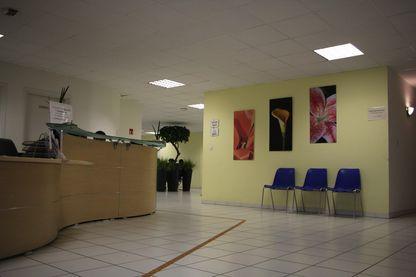 L'accueil de la maison de santé de Véron, dans la commune d'Avoine.