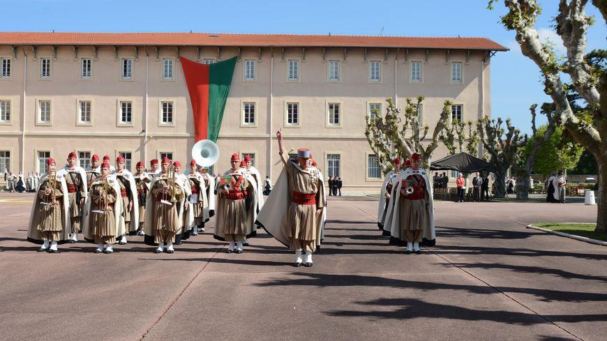 La fanfare du 1er régiment de spahis