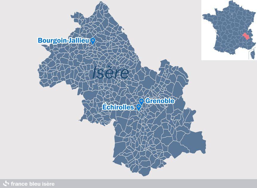 Gérard Collomb doit se rendre à Grenoble, Échirolles et Bourgoin-Jallieu