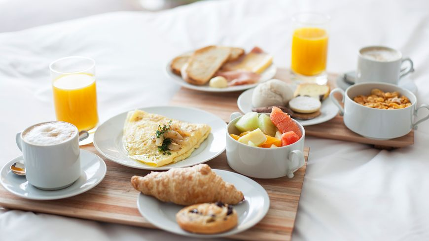 Incontournable petit déjeuner pour démarrer la journée.