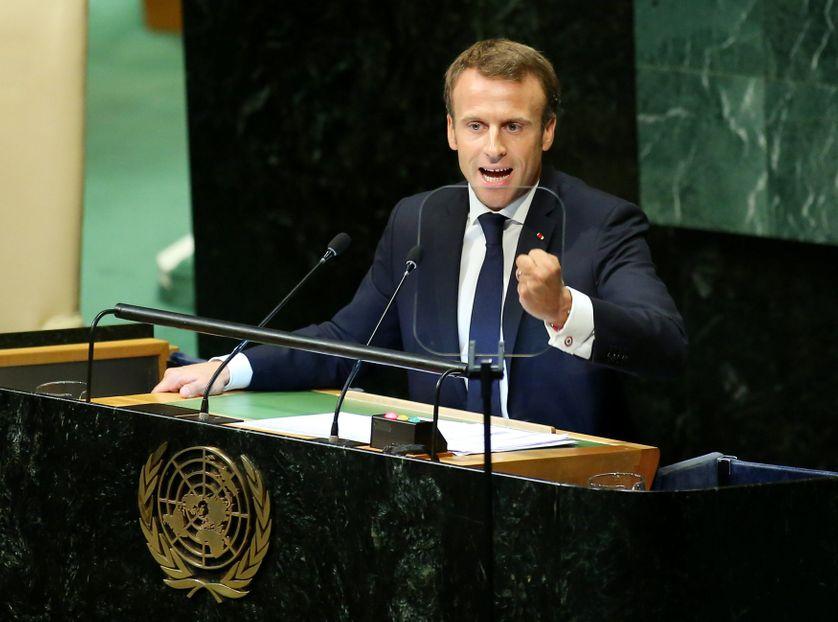 Emmanuel Macron à l'Assemblée générale des Nations unies