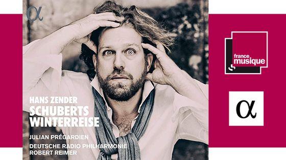 Hans Zender : Schuberts Winterreise - Julian Prégardien chez Alpha
