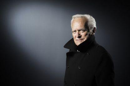 Le journaliste, écrivain et réalisateur Philippe Labro à Paris le 21 avril 2017.