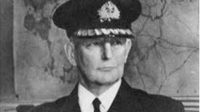 Le vice-amiral polonais Josef Unrug