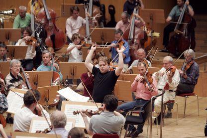 Mikko Franck, chef d'orchestre finlandais, il devint en 2015 Directeur musical de l'Orchestre philharmonique de Radio France.