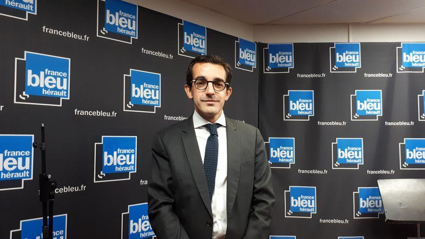Olivier Biscaye, Rédacteur en Chef du quotidien régional  Midi Libre