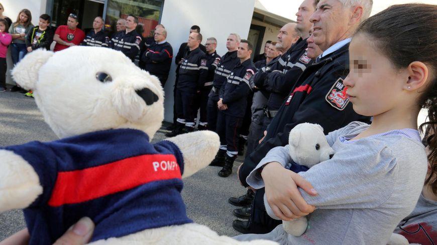 l'ourson Pompy va rassurer les enfants