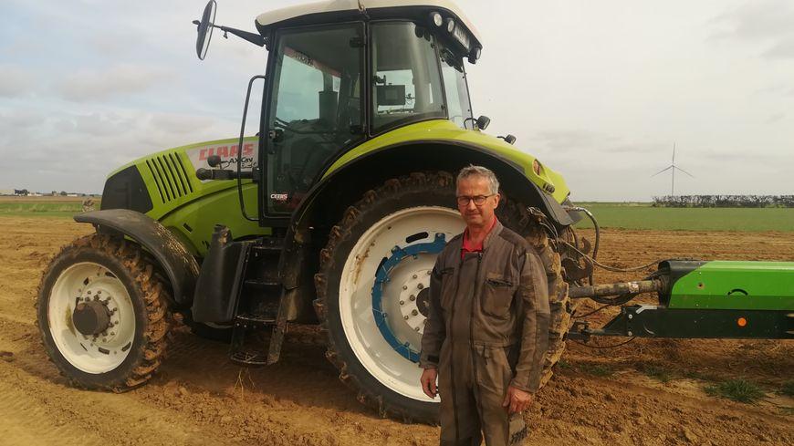 Jean-Michel Damay, président des producteurs de pommes de terre de la Somme