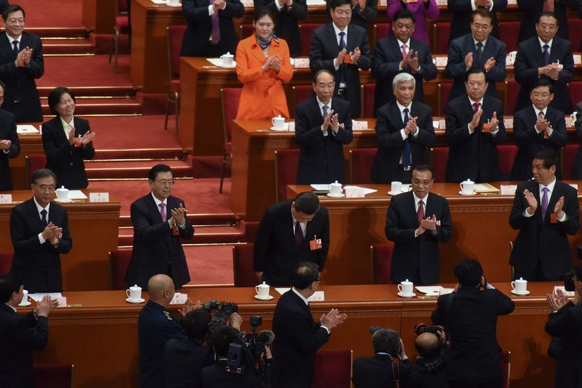 Deuxième élection de Xi Jinping