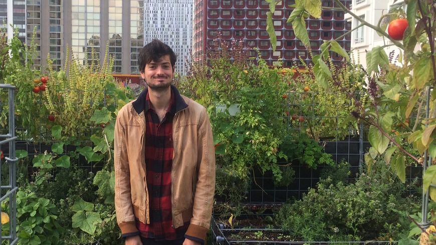 Arno Faivre, ingénieur agronome et fermier urbain