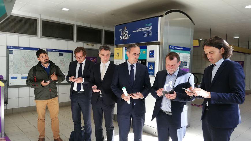 La couverture mobile et 4G du métro résulte de la coopération entre Rennes Métropole, TDF et les quatre opérateurs