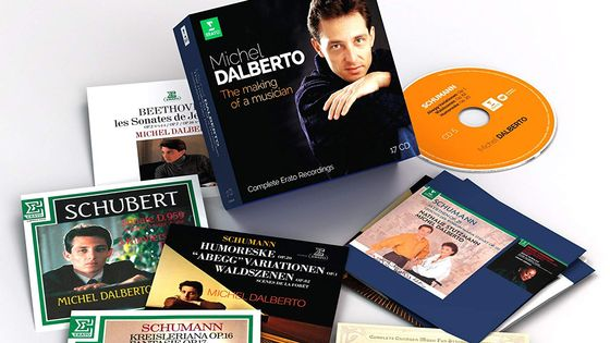 Michel Dalberto : The making of a musician, Coffret 17 CDs ERATO