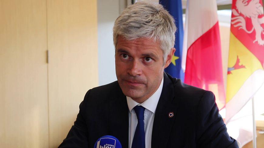 Laurent Wauquiez, le 5 septembre à Lyon.