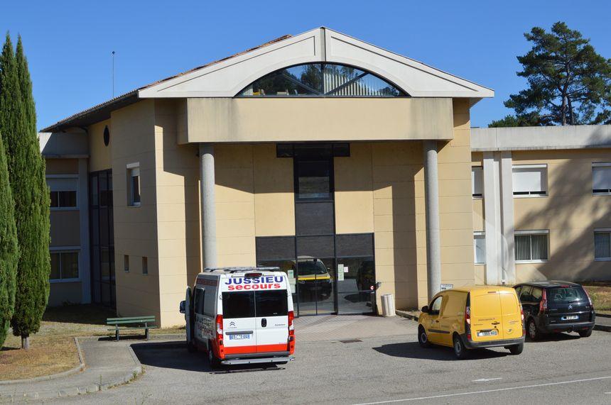 La clinique des Cévennes à Annonay, qui pourrait fermer.