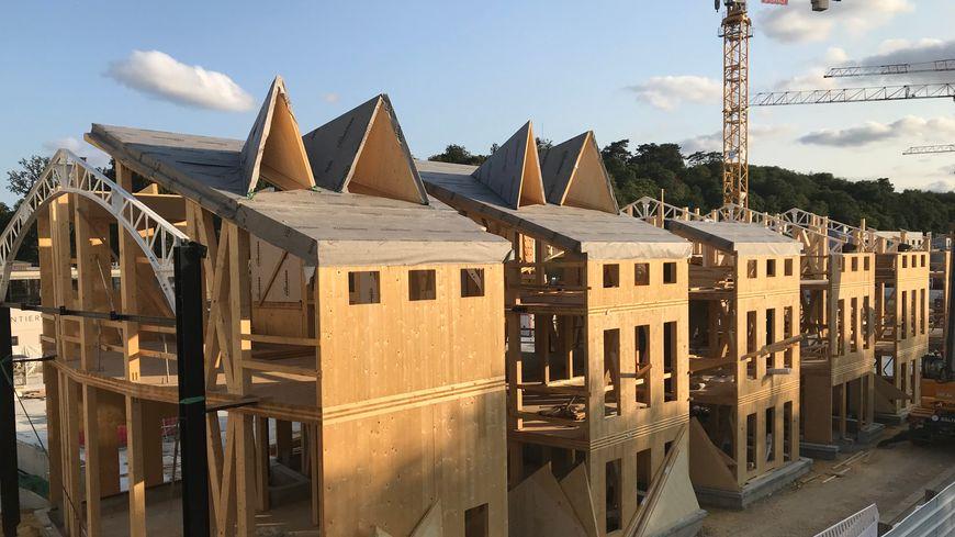 La construction du nouveau siège de Nature & Découvertes à Versailles.