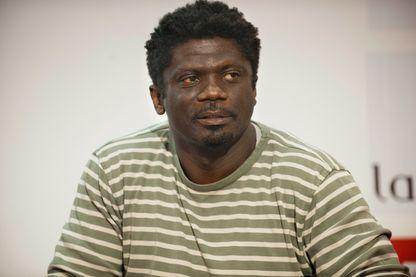 """L'écrivain ivoirien Gauz (nom d'auteur d'Armand Patrick Gbaka-Brédé), qui vient de publier son deuxième roman """"Camadade papa"""" aux éditions Le Nouvel Attila, le 31 août 2018."""