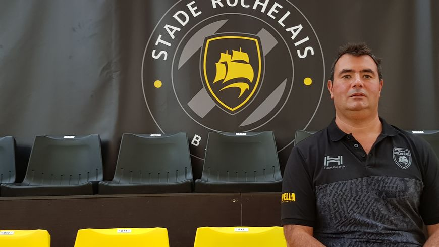 Grégory Thiélin, entraîneur du Stade Rochelais basket Rupella