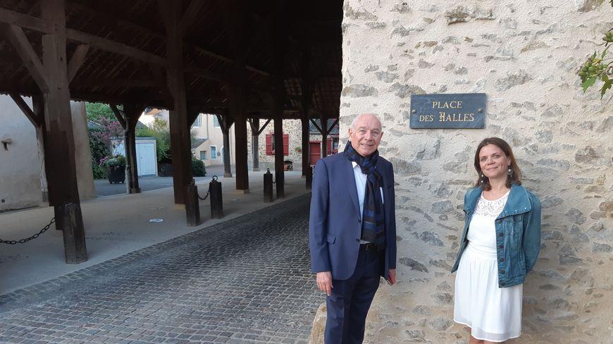 Les halles de St Denis d'Anjou
