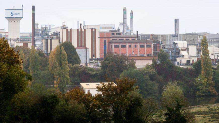 L'usine Solvay de Melle.