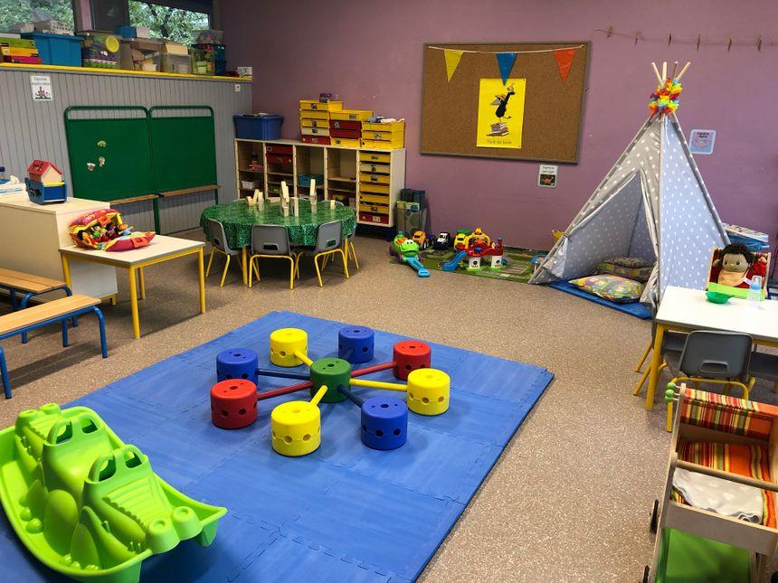 Tout est prêt à l'école Josef Ley pour accueillir les enfants dès 2 ans et demi