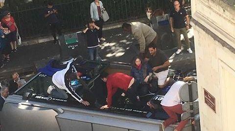 L'accident s'est produit juste à côté du musée des beaux-arts de Tours
