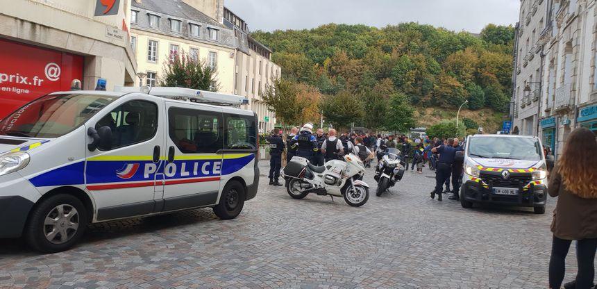 Un vendredi soir très agité qui a nécessité l'intervention de la police.