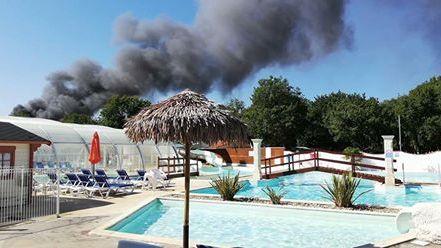 Les sapeurs-pompiers ont mis 5h pour éteindre l'incendie.