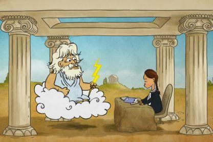 Zeus parviendra-t-il à négocier le paiement de toutes les pensions alimentaires qu'il doit à ses anciennes conquêtes?