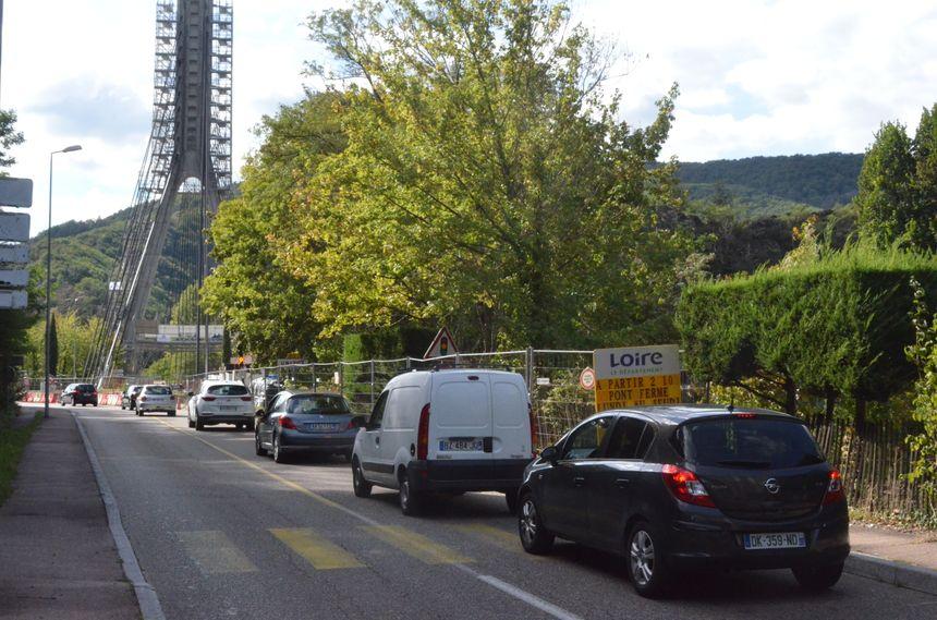 Des coupures totales du pont vont venir s'ajouter à la circulation en alternat