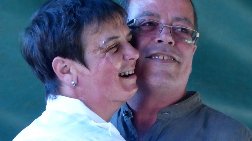 Stéphanie et son mari