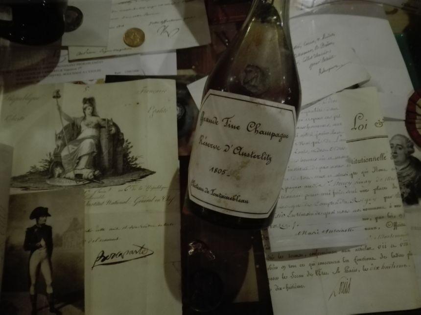 Cette bouteille de 1805 vient de la réserve de Napoléon
