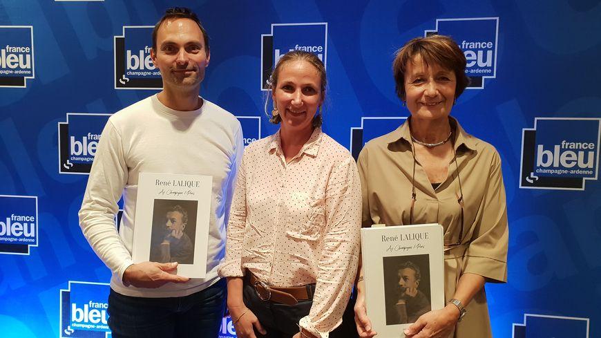 Corinne Mongeard et Agath Rabeux, invitées d'Olivier sur France Bleu