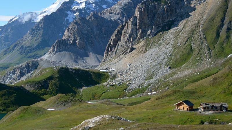 Le refuge du col du Palet à 2 587 m d'altitude dans le Parc national de la Vanoise