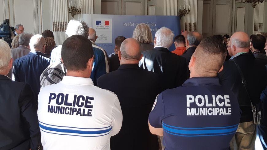 """Policiers municipaux, nationaux et gendarmes sont associés au dispositif """"Participation citoyenne""""."""