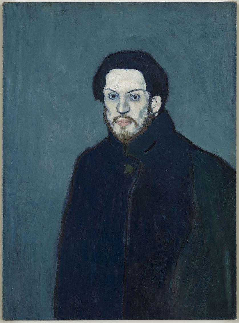 Autoportrait, Picasso, 1901