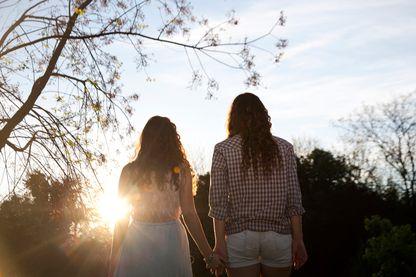 Couple de lesbiennes