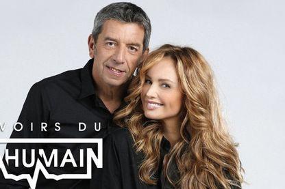 Michel Cymès et Adriana Karembeu essaient de comprendre comment les grands sportifs résistent à la pression. Sur France 2.