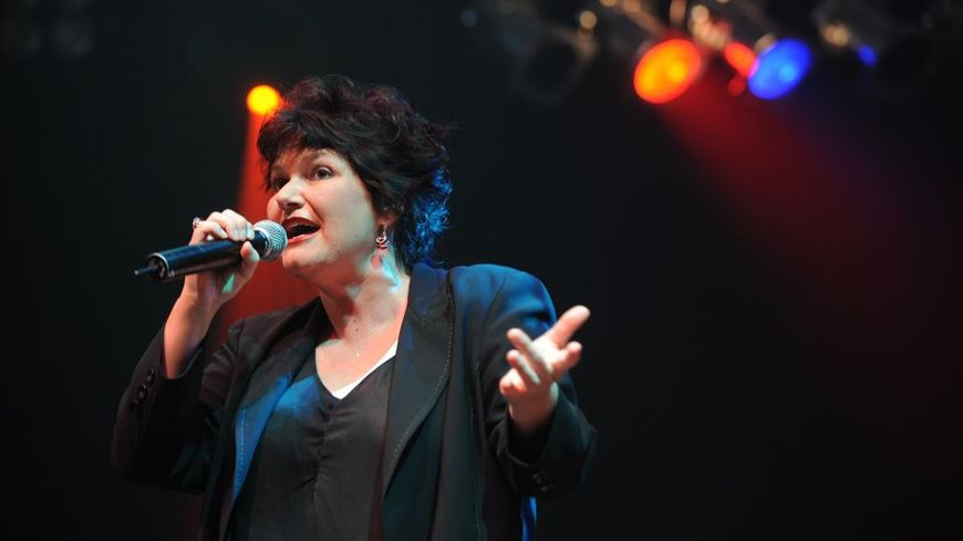 Maurane en concert à Genève.