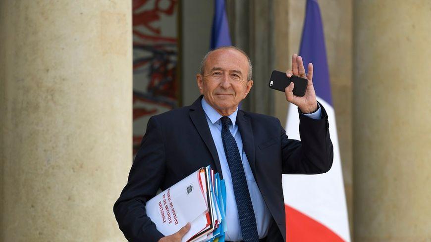 Gérard Collomb en juillet dernier.