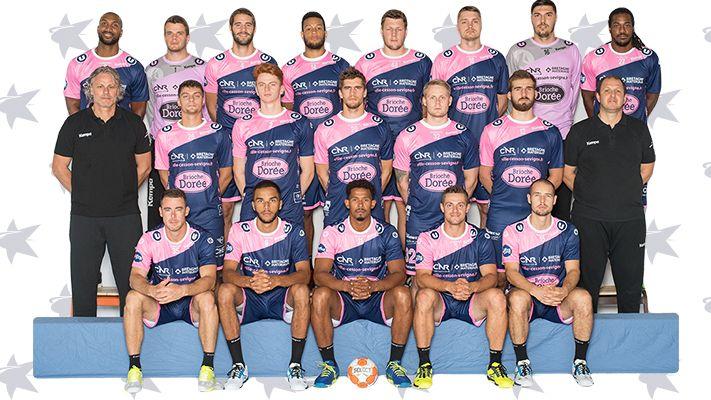 L'équipe 2018/2019 du Cesson Rennes Métropole