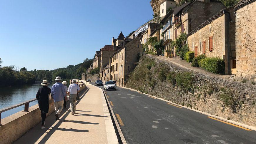 La traversée de Beynac s'est faite sans encombres cet été d'après le maire de la commune.