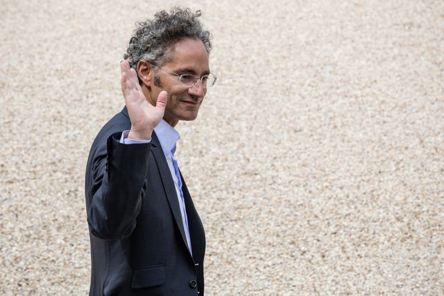 Alexandre Karp au Palais de l'Élysée, le 23 mai 2018, lors du rendez-vous des géant du web Tech for good.