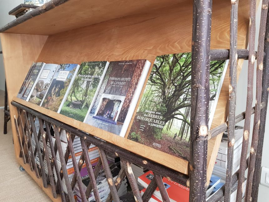 Une collection de beaux livres à découvrir en librairie ou au siège rue Adrien Dubouché à limoges