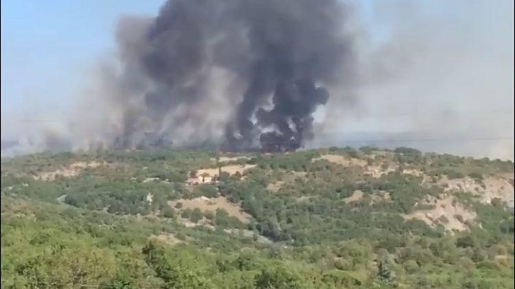 Près de 120 hectares ont brûlé dans le Lot. 200 pompiers ont été mobilisés au plus fort de l'incendie.