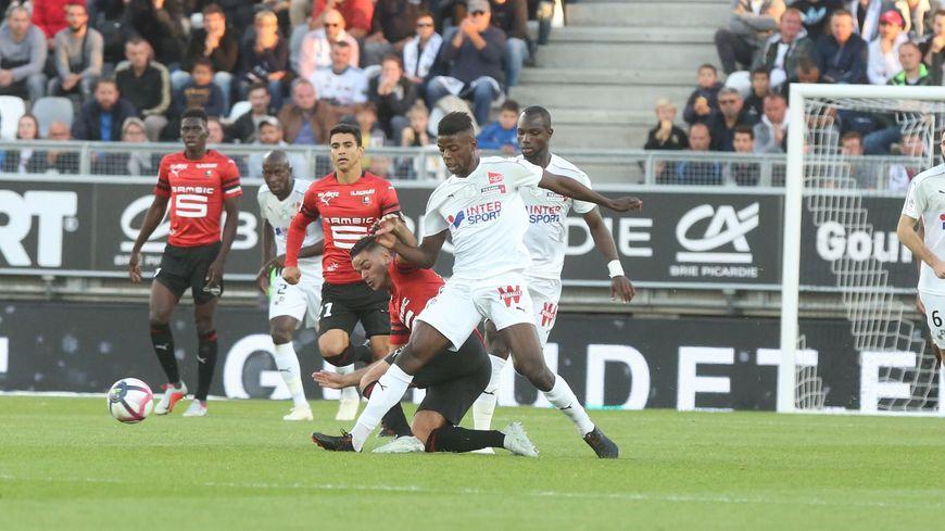 Eddy Gnahoré avait ouvert le score pour Amiens